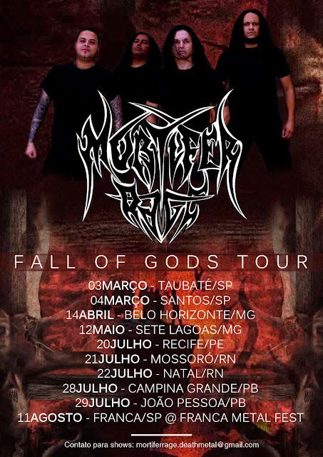 Mortifer Rage: mini-tour pelo Nordeste começa neste final de semana