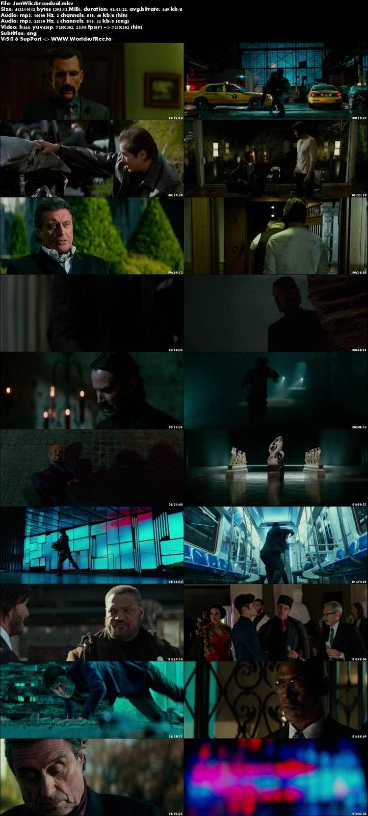 John Wick Chapter 2 2017 Dual Audio BRRip 480p 400Mb x264 world4ufree.to hollywood movie John Wick Chapter 2 2017 hindi dubbed dual audio 480p brrip bluray compressed small size 300mb free download or watch online at world4ufree.to