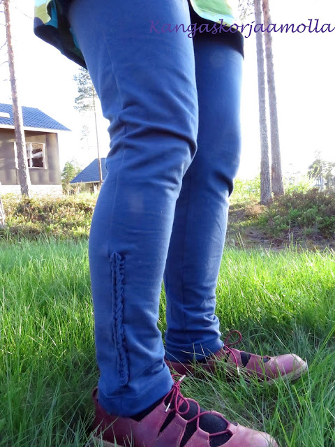 Hyödynnä trikoosuikaleet