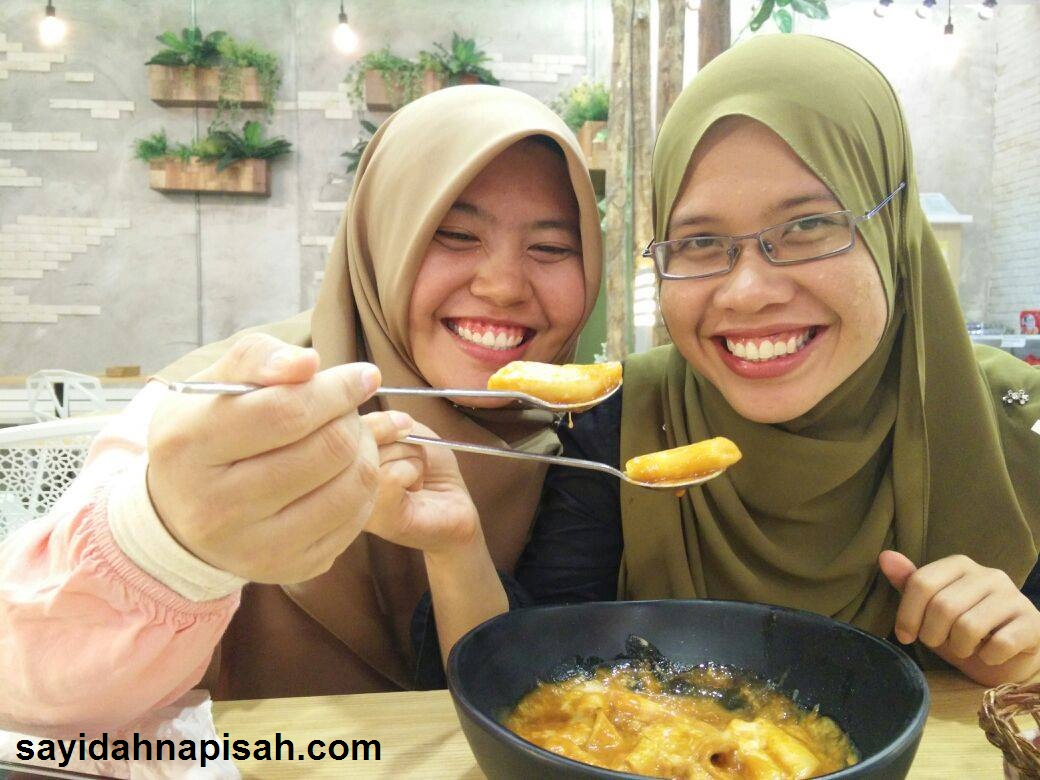 Cheese Topokki di Sopoong IOI City Mall Terbaikkk~!