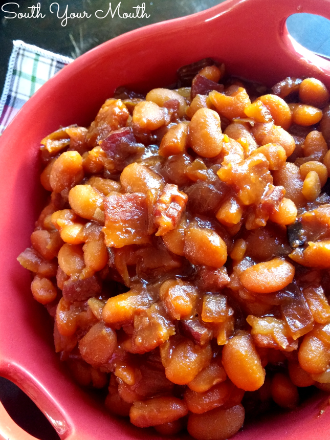 Homemade Boston Baked Beans from scratch! Dried Great Northern Beans ...