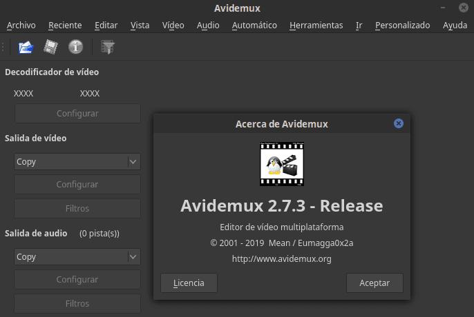 Avidemux 2.7.3 lanzado con varias correcciones