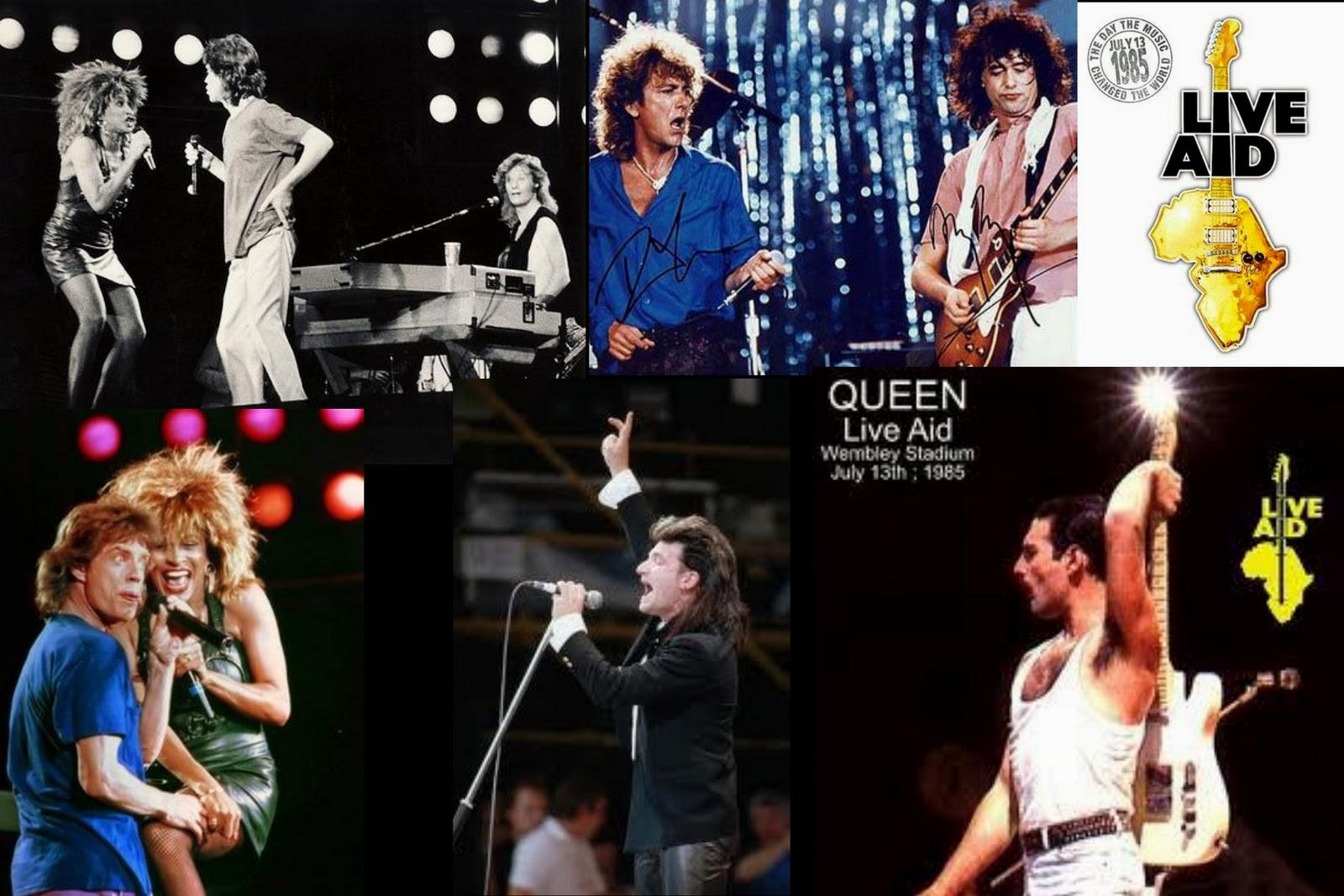 World United Music: 3. LIVE AID 1985