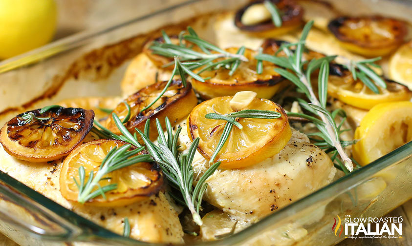 Rosemary Lemon Roasted Chicken Breasts Video
