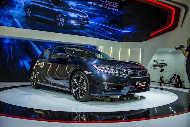 Honda Civic 2017 công bố giá bán tại Việt Nam gia xe honda civic 2017 tai viet nam