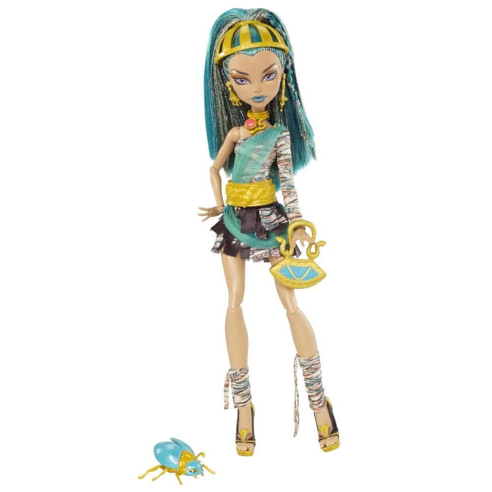Monster High: Muñeca de Nefera de Nile (Monster High) para imprimir