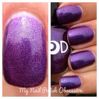 My Nail Polish Obsession Mod Lacquer Cherry Fizz Verde Montana Purple Prose