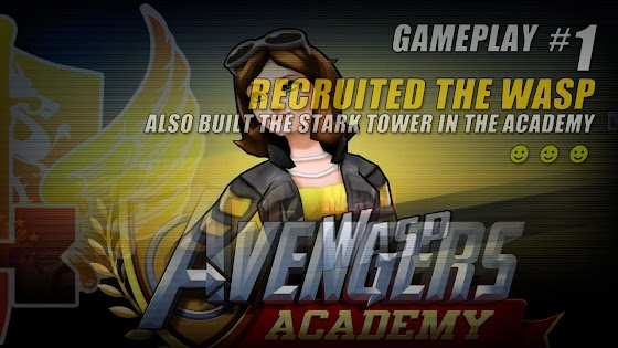 Marvel Avengers Academy ★ Recruited The Wasp ★ Built The Stark Tower In The Academy