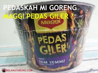 Maggi Pedas Giler Tom Yummz