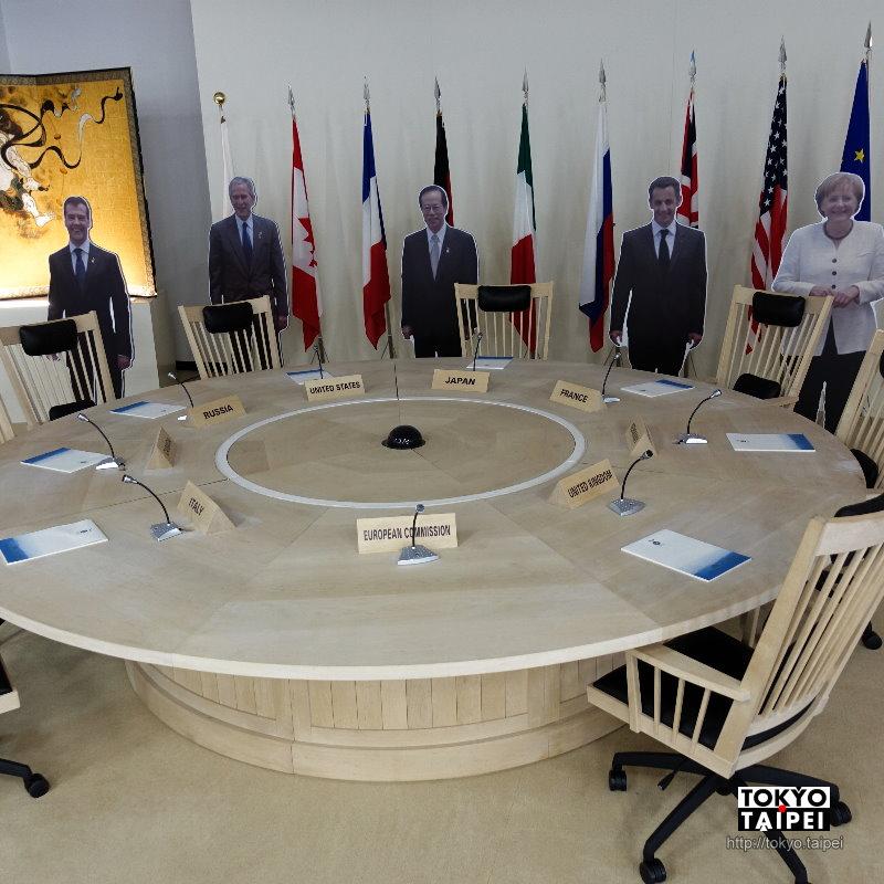 【北海道洞爺湖高峰會紀念館】回顧2008年的國際會議 各國領袖齊聚盛況