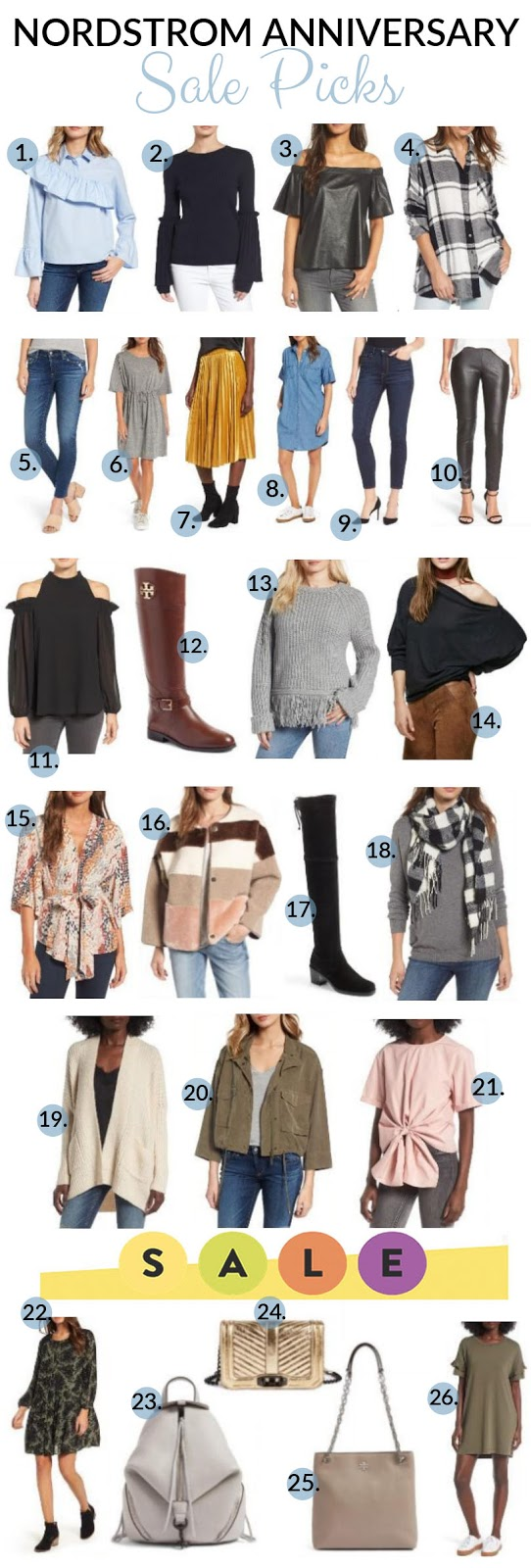 Nordstrom Anniversary Sale Early Access Shopping Guide by fashion blogger Laura of Walking in Memphis in High Heels