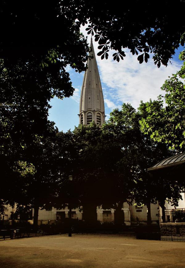 Paroisse Saint Léon, Dupleix, Paris. Photos by Kent Johnson for Street Fashion Sydney.