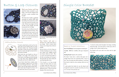 Lacework Bracelets tutorial by Karen Williams