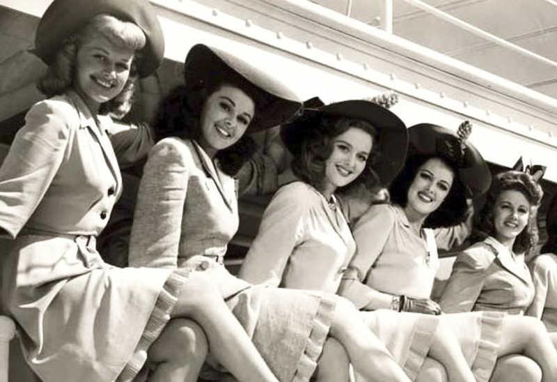 história maquiagem 1940