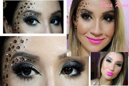 Pretty Girrls: Copie e Cole: Makes de carnaval!
