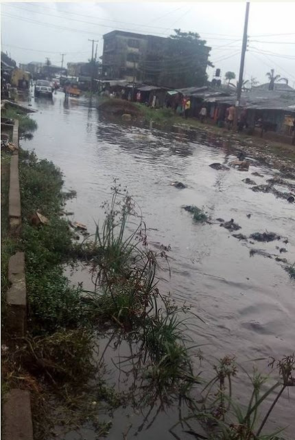 Unbelievable! The Horrible State of Obohia Road in Aba, Abia State Could Move You to Tears (Photos)