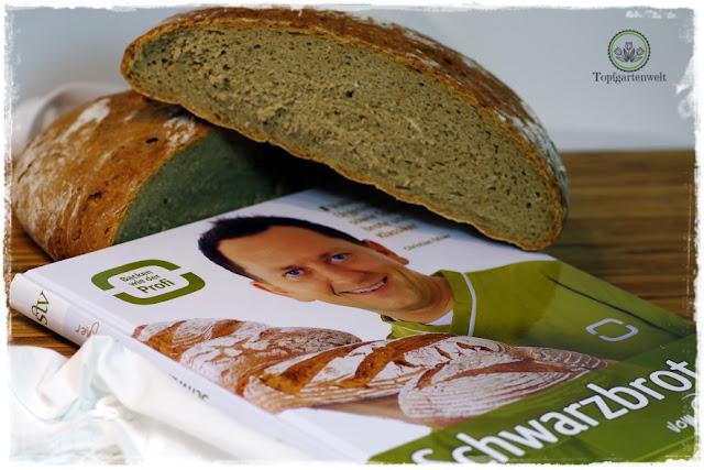 Gartenblog Topfgartenwelt Brot aus dem Dampfbackofen: mit Hefe Germ und Sauerteigextrakt getrocknetem Sauerteig