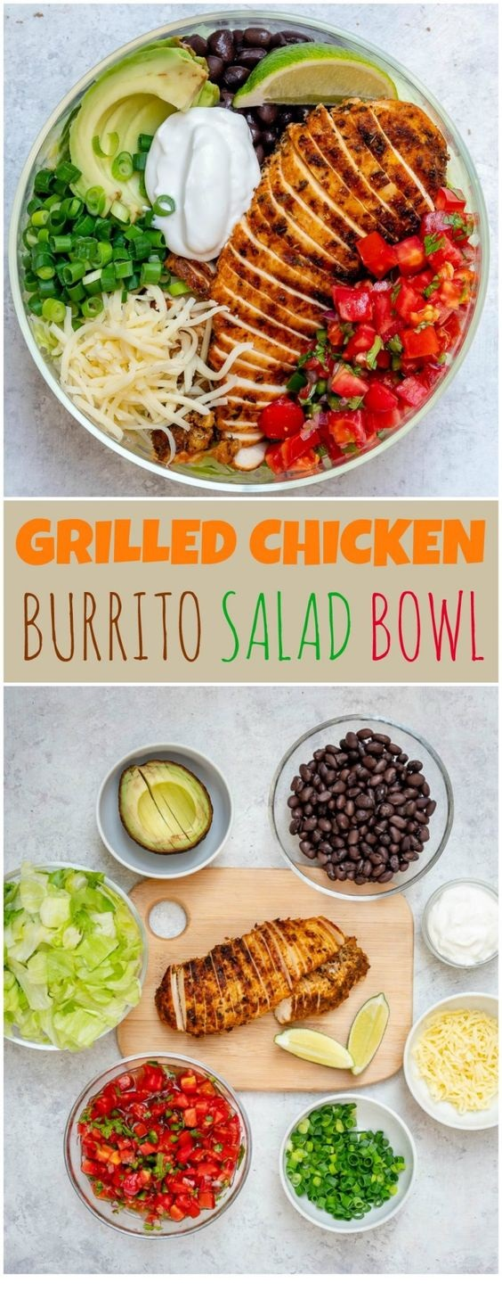 Grilled Chicken Meal Prep Bowls 4 Creative Ways For Clean Eating!