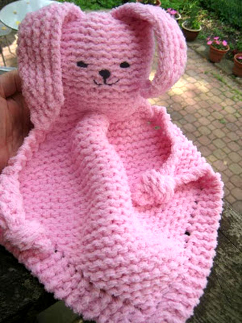 Bunny Blanket Buddy - Free Pattern