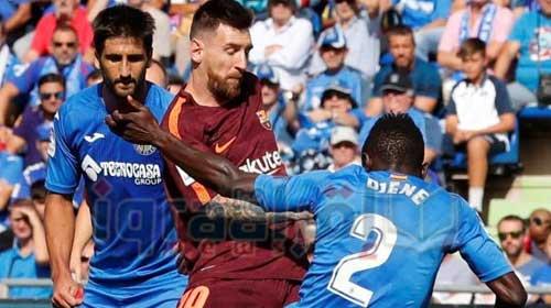برشلونة يعبر خيتافي بفوز صعب بالجولة الرابعة من الليجا الاسباني