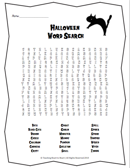 Teaching Heart to Heart: Halloween: It's the Most