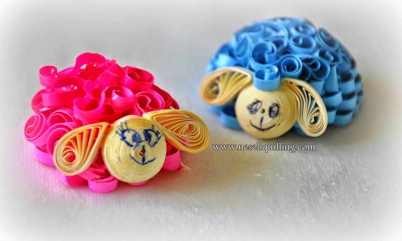 quilling sheep