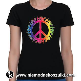 koszulka z pacyfką