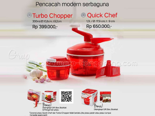 TurboChopper & Quick Chef PromoTupperware Desember 2016