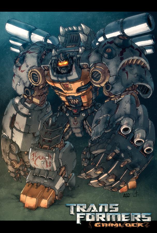 WAYLANDER: Art of Transformers: Livio Ramondelli tribute