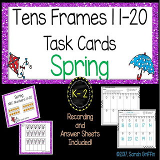 https://www.teacherspayteachers.com/Product/Tens-Frames-Numbers-to-20-Fall-Math-Center-Task-Cards-3077211