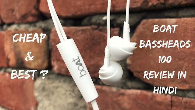 (65% Off) Boat bassheads 100 Earphone Review In hindi