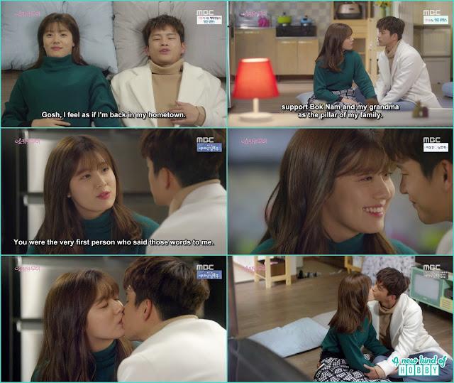 louis and bok shil happy ending kiss - Shopping King Louis (Kisses) korean Drama