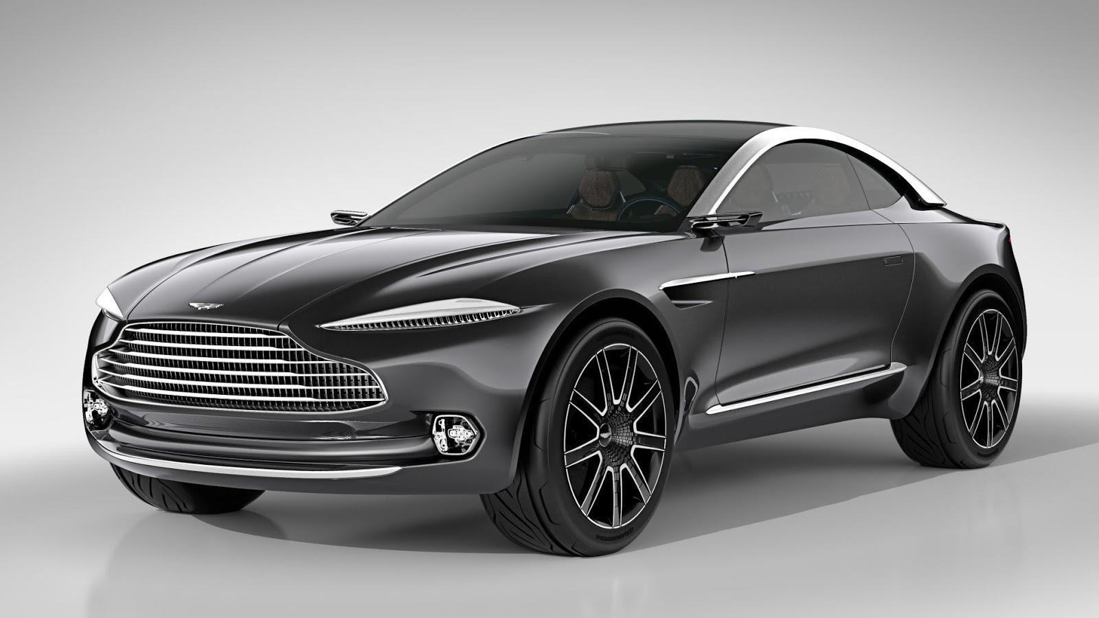 Aston Martin DBX Crossover sẽ như thế này?