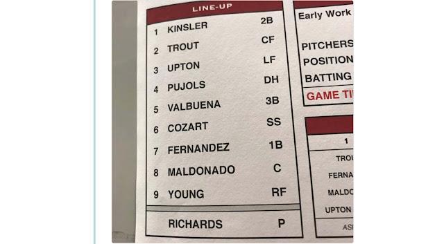 El matancero fue ascendido esta misma tarde al primer equipo de Anaheim y debutará en la noche de hoy en MLB como primera base y 7mo en la alineación