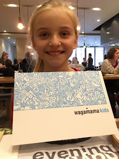 kids menu at Wagamama #review
