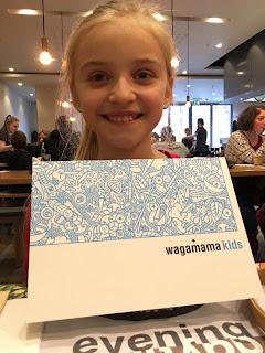 kids menu at Wagamama #review