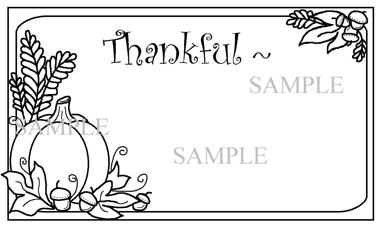 Rose Petal Hollow Give Thanks Printable Thanksgiving