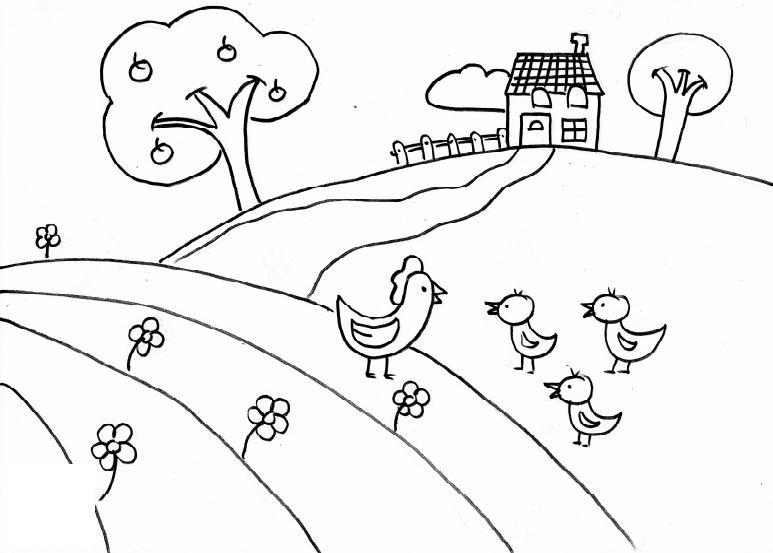 62+ Gambar Mewarnai Anak Tk Dan Paud Terlihat Keren