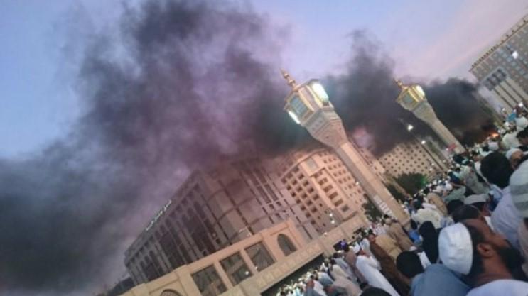 Bom bunuh diri meledak di dekat Masjid Nabawi (Foto: BBC)