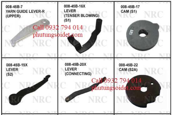 Cam(S1)008-45B-17 Lever (S2) 008-45B-19X Lever (Connecting) 008-45B-20X Cam (S2A) 008-45B-22 Spring (Lever) 008-45B-23 Cam (Cutter) 008-45B-26