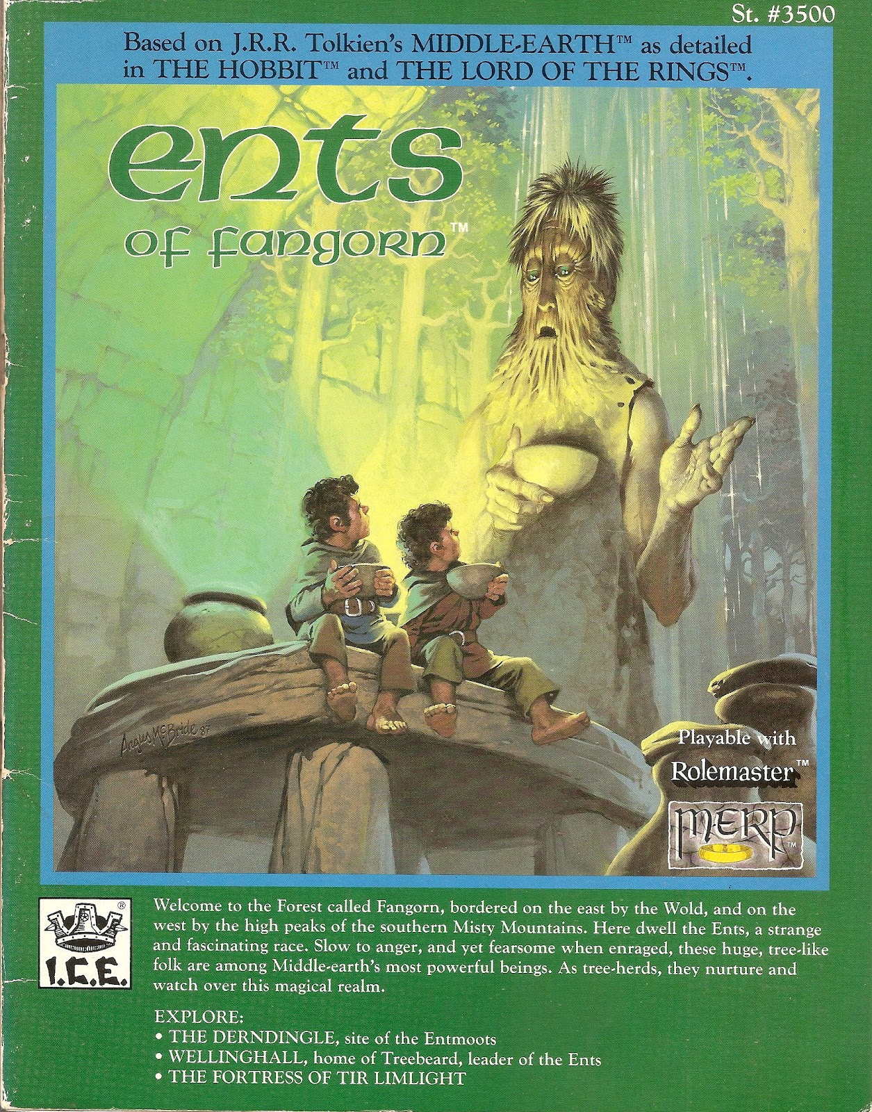 DarkDimension: Ents of Fangorn: Finally, an elf-free forest