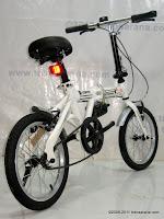 4 Sepeda Lipat DoesBike 1601 Convoy 16 Inci