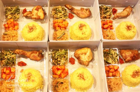 nasi kuning box cirebon