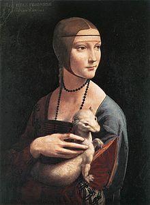 Dama,armiño, Leonardo da Vinci