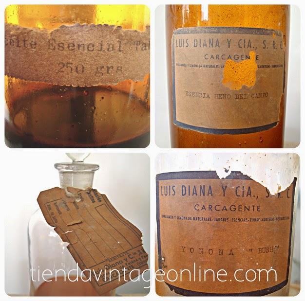 Botellas antiguas para colección. Comprar botellas antiguas de cristal ambar