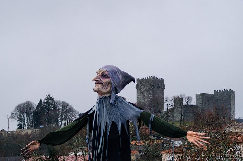Bruxa e castelo de Montalegre