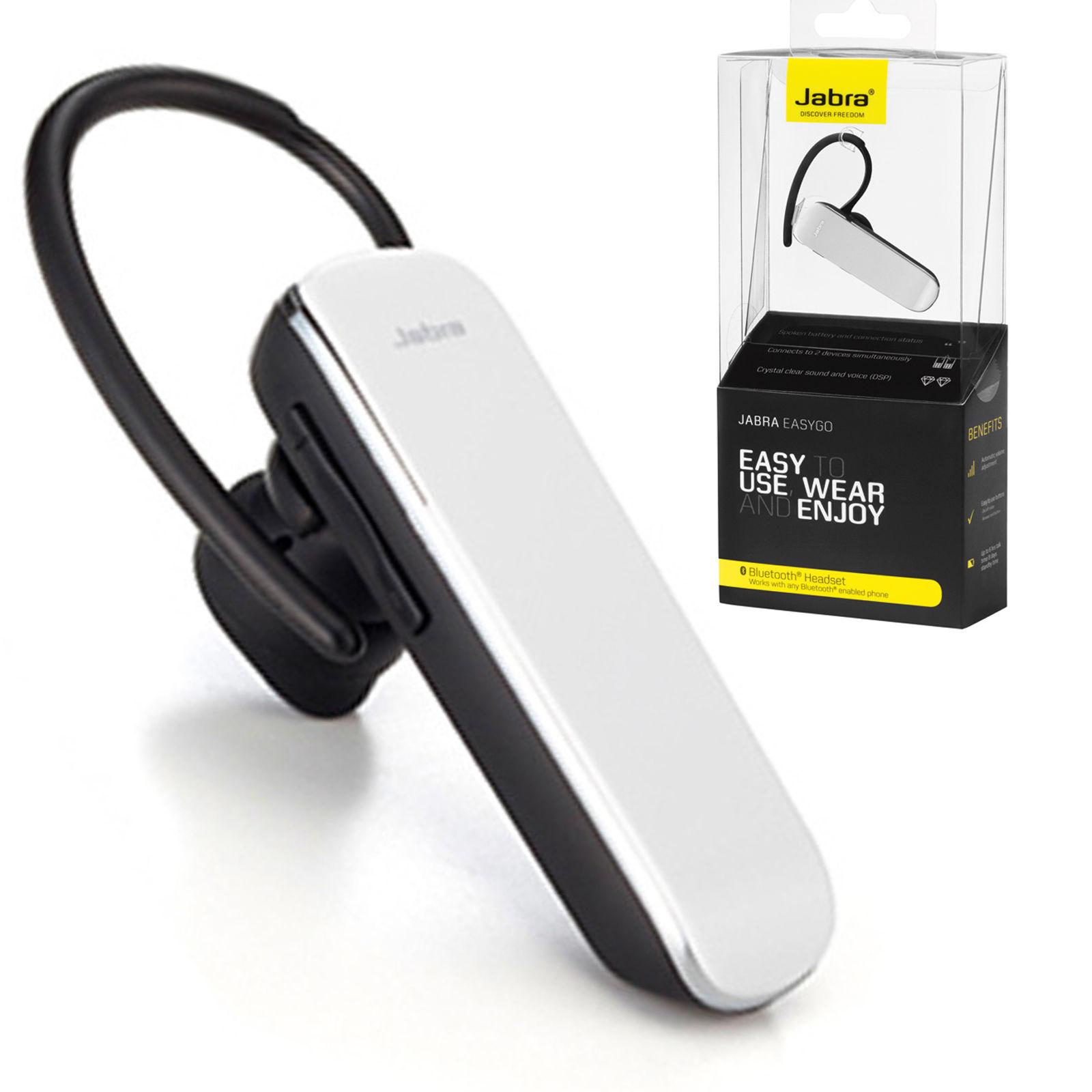 0aa1e8c841a Genuine Jabra Easy Go Bluetooth Headset Handsfree For Samsung Galaxy S3 S4  S5 S6