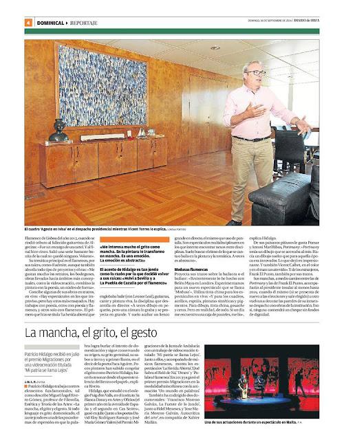 Patricio Hidalgo en Diario de Ibiza