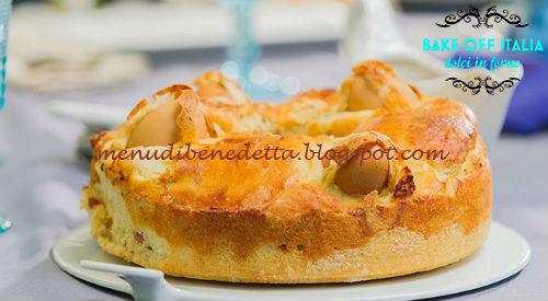 Casatiello ricetta Lamberto Martino da Bake Off Italia 4