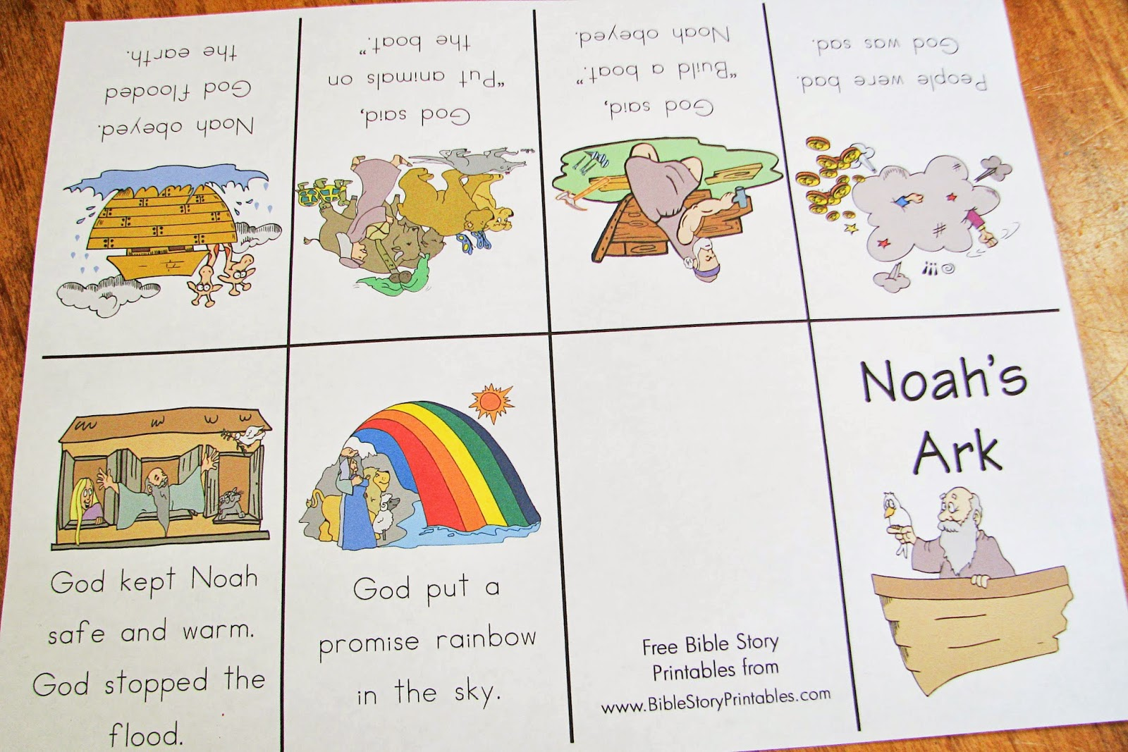 Mommy S Little Helper Noah S Ark Preschool Theme